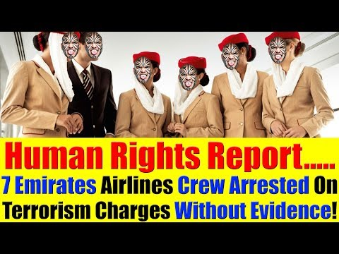 7 Emirates Airlines Employees Jailed Without Evidence - Human Rights Watch Report