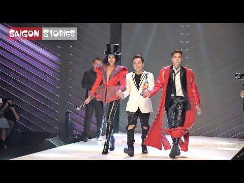 Thanh Hằng chứng tỏ đẳng cấp khi catwalk cùng Mid Nguyễn, Lệ Nam, Thùy Dương, Cao Ngân