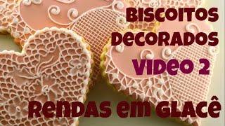 Como decorar biscoitos rendados 2