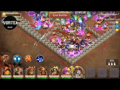 Castle Clash - Insane Dungeon 7-1