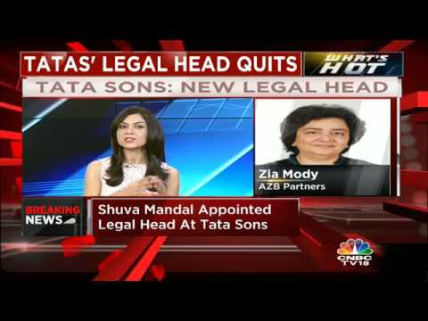 Shuva Mandal Appointed As Tata Sons New Legal Head