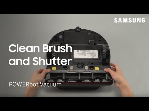 How To Clean The Brush And Shutter On Your Samsung POWERbot