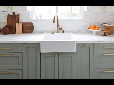 Cocinas en color GRIS - YouTube