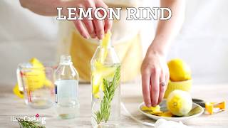 Lemon & Rosemary Vinegar Cleaner