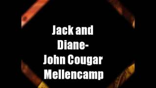John Mellencamp - Jack and Diane lyrics