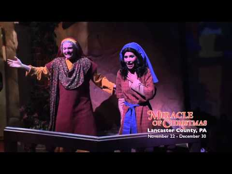 2013 Season of Miracle of Christmas at Sight & Sound Theatres