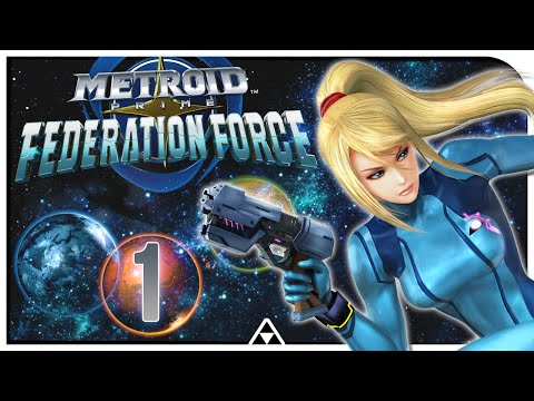 TRAINING OHNE SEXY SAMUS 🔮 Metroid Prime Federation Force #001