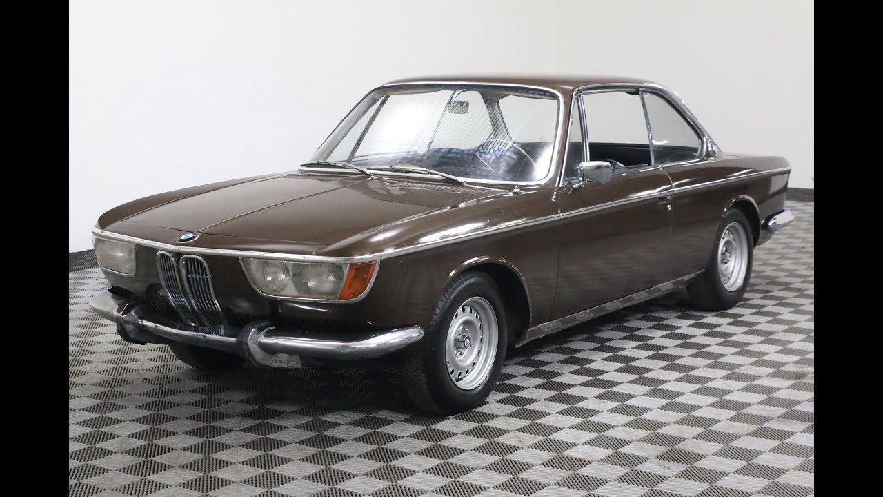 1967 BMW 2000CS - YouTube