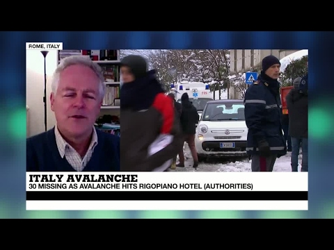 Italy: 2 People Rescued In Rigopiano Hotel After Avalanche Hits Pescara Region