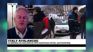 Italy  2 people rescued in huge avalanche on Rigopiano hotel