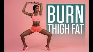 Secret to BURNING THIGH FAT (Hint: Its Not Cardio!)