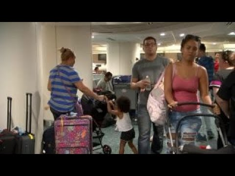 Hurricane Maria causes Puerto Ricans to flee to Florida