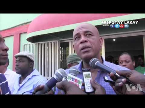 Reyaksyon Ansyen Prezidan Michel Matelly sou Lanmò Ansyen Prezidan René Préval