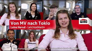 Von MV nach Tokio - Leichtathletin Luisa Herud
