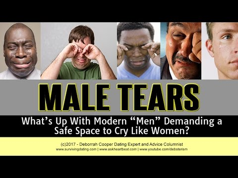 Deborrah Cooper on Male Tears - Men Want a Safe Space to Cry? from YouTube · Duration:  20 minutes 47 seconds