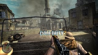 Call of Duty 2  ПРОДОЛЖЕНИЕ ПЕРЕПРАВА ЧЕРЕЗ РЕЙ 23 И концовка Разговора)