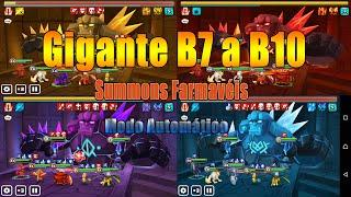 summoners war gigantes b7 a b10 auto farmaveis