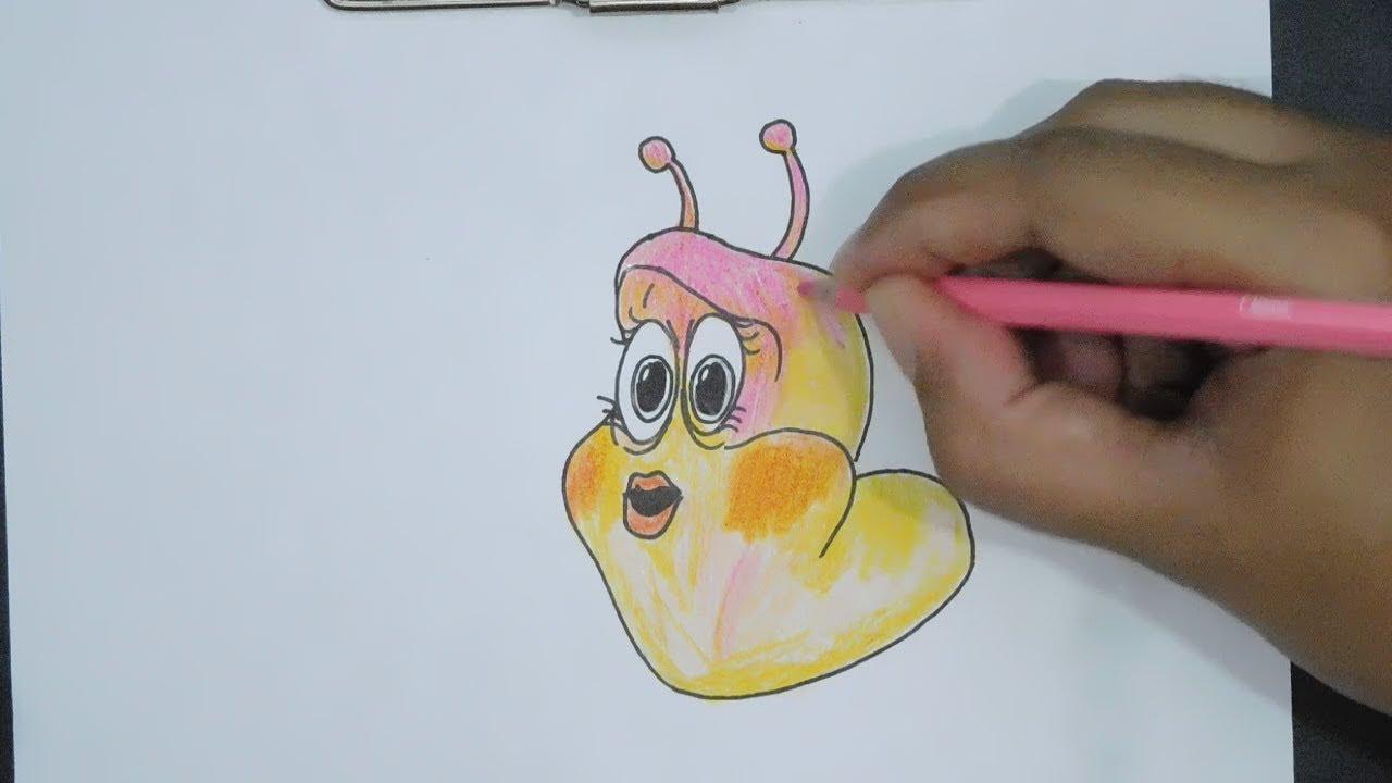 Top Cara Meng Gambar Kartun Larva