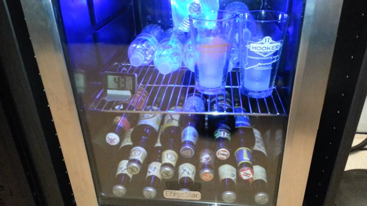 Cool Drink Fridge Bwc70ss Edgestar 62 Can Extreme Cool Beverage Refrigerator