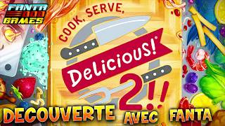 COOK SERVE DELICIOUS 2 - DECOUVERTE avec Fanta - Gameplay PC FR HD 1080p60 Fantabobgames