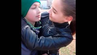 Полина и Федя вот она настоящая любовь