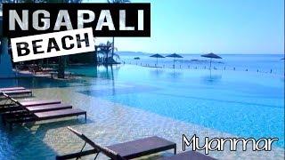 MYANMAR TRAVEL HIGHLIGHTS - NGAPALI BEACH – HILTON RESORT & SPA