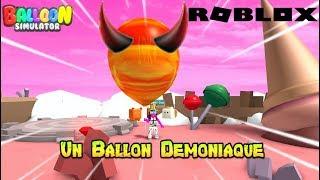 I have a DEMONIc BALLON! Roblox Balloon Simulator
