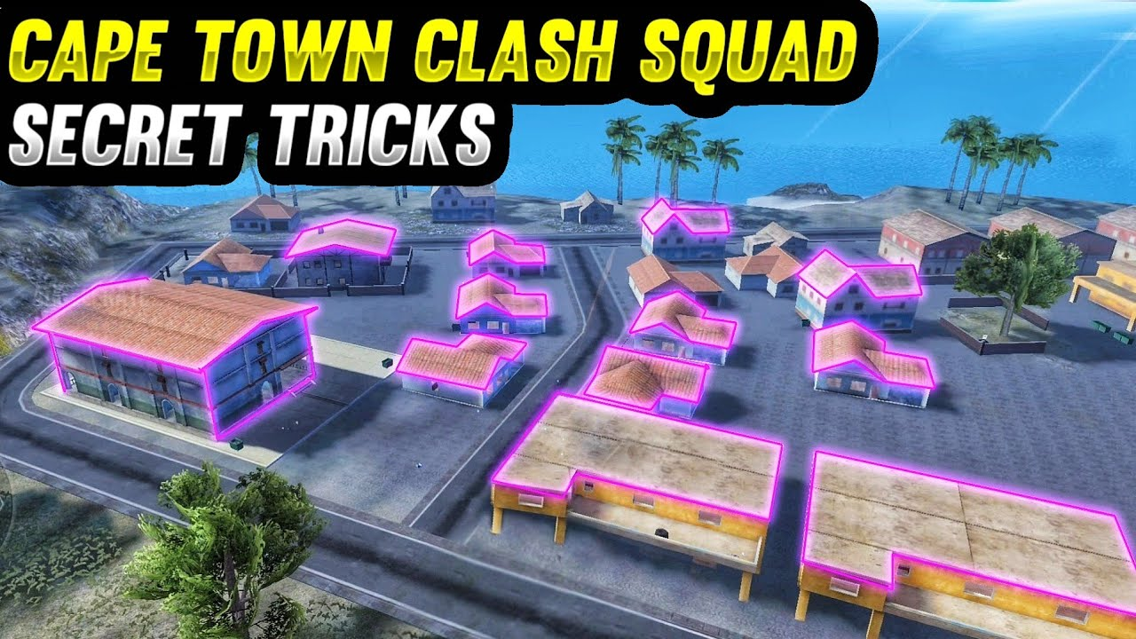 Top 10 New Unknown Tricks in free fire || 10 Best Cape Town Clash Squad Secret Strategy in free fire