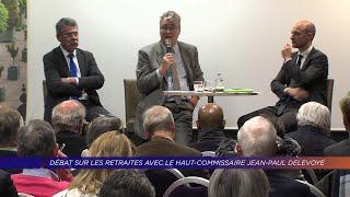 Yvelines | Débat sur les retraites avec le Haut-commissaire Jean-Paul Delevoye