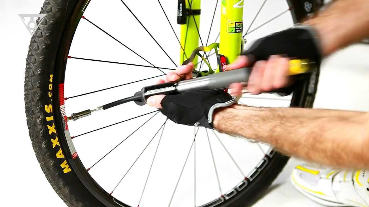 mini master blaster bike pump instructions