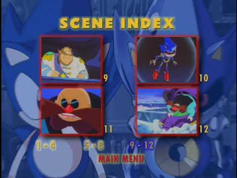 Sonic The Hedgehog Ova Dvd Menus Youtube