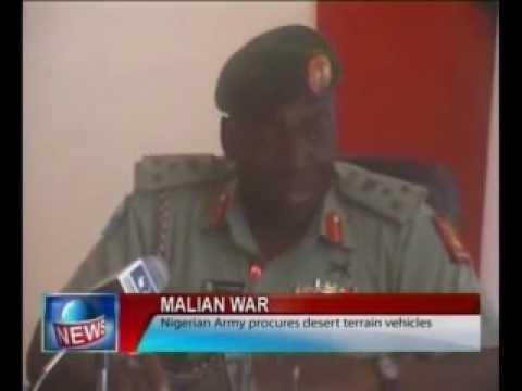 Malian War: Nigerian Army Procures Desert Terrain Vehicles