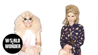 Enjoy the video? Subscribe here! http://bit.ly/1fkX0CV PART 1: Trixie & Katya share their she-crets on the intricacies of flirting and the art of your inner bird call.