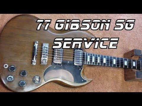 77 Gibson SG Service