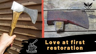 Old axe restoration and modification. Restore it yourself!