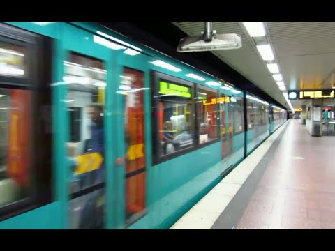 Frankfurt U-Bahn, the Frankfurt Metro