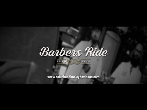 The Barbers Ride At Robin Hood Harley Davidson®