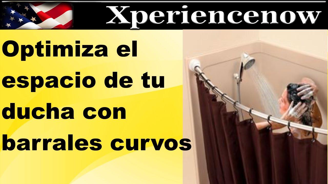 Cortinas De Baño Keep Calm:Como tener mas espacio en tu ducha, barrales curvos – YouTube