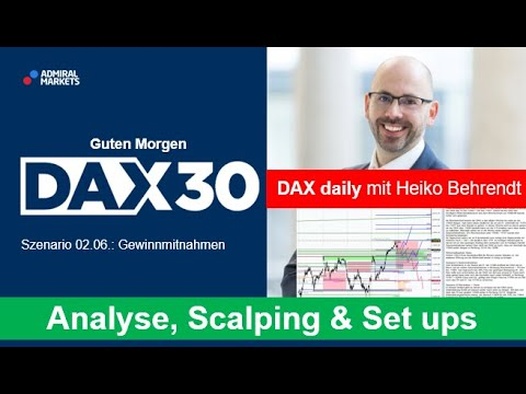 DAX aktuell: Analyse, Trading-Ideen & Scalping | DAX 30 | CFD Trading | DAX Analyse | 02.06.2020