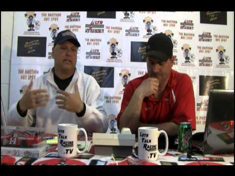 Let's Talk Racing TV Show 4/30/14 Austin Hill, Ben Rhodes, Nick Drake, Cole Custer, & Grant Enfinger
