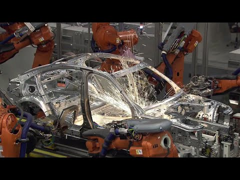 Chassis Production | How Cars are Manufactured | Automobile assembly