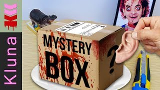 EATING BOX FROM THE DARK WEB MYSTERY - Kluna Tik Style Dinner #39 - Eating show ASMR