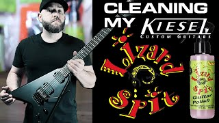 Cleaning My Kiesel Guitars with LIZARD SPIT