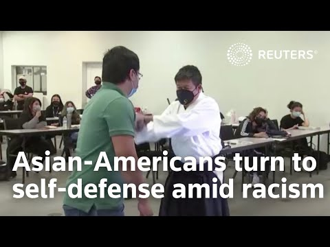 Asian-Americans turn to self-defense amid racism