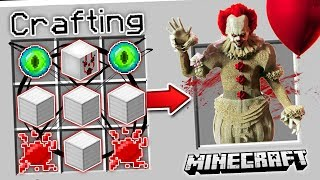 HOW TO SUMMON PENNYWISE IN MINECRAFT!