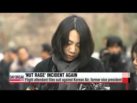 Korean Air flight attendant sues former executive over ′nut rage′ incident   ′땅콩