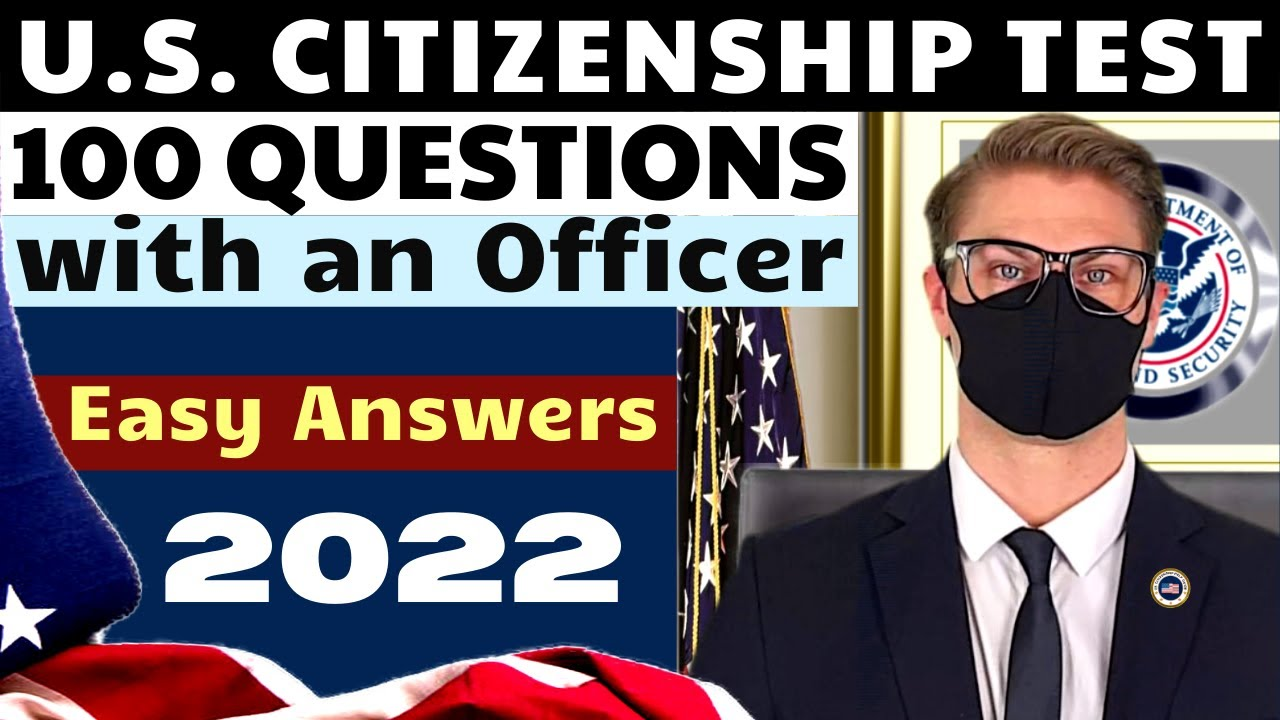 USCIS 100 Civics Test 2021 (Interview Type Questioning) US Citizenship | Government and History