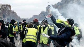 Al menos 1.400 detenidos por protestas en Francia