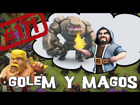 Para atacar con Golem y Magos - Descubriendo Clash of Clans #171 [Español]
