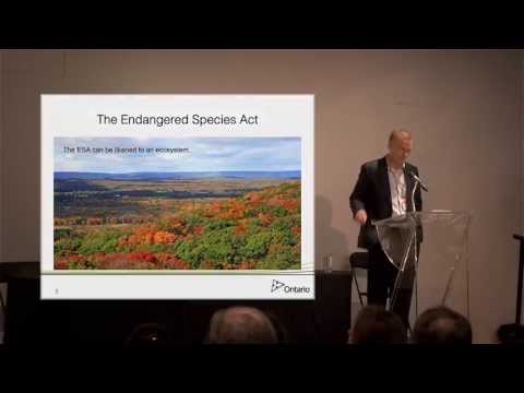 Marc Rondeau - Overview of the Endangered Species Act - OESAC 2013